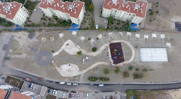 Beypazarı'na 2 Dev Park