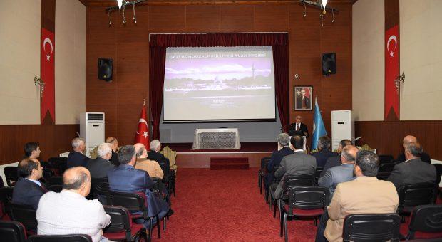 Gazi Gündüzalp Külliyesi Avan Projesi Tanıtıldı