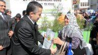 Kadınlar Gününde Orman İşletme Müdürlüğünce Fidan Dağıtımı Yapıldı