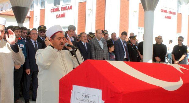 Şehit Trafik Polisi Serkan ÇAĞLAYAN Dualarla Son Yolculuğuna Uğurlandı