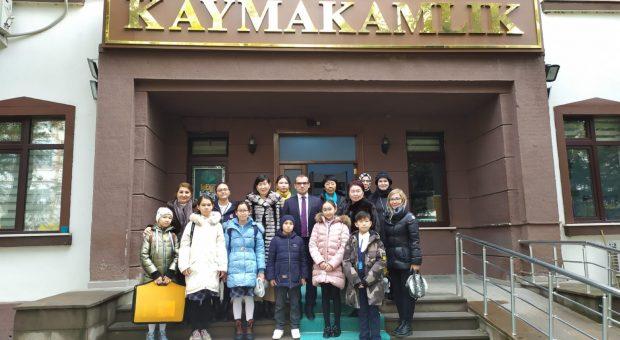 Kazakistanlı Öğrenciler, Beypazarı'nı Ziyaret Ettiler